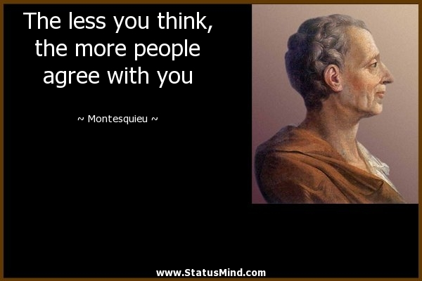 025 Montesquieu Quotes Sayings