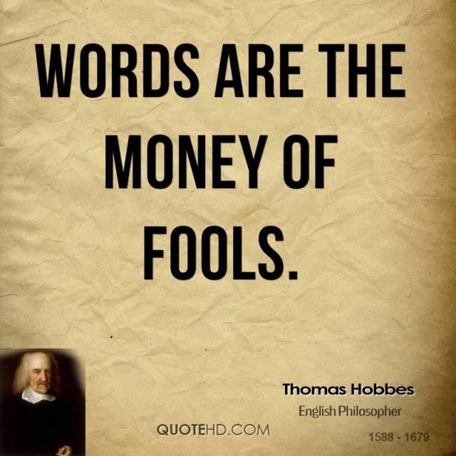 027 Thomas Hobbes Quotes