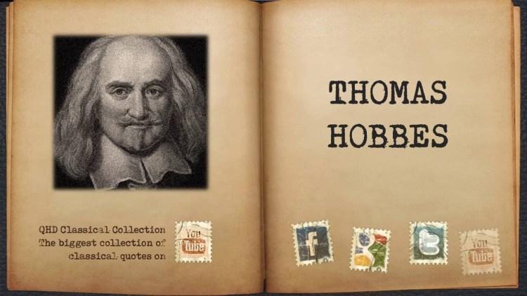 032 Thomas Hobbes Quotes
