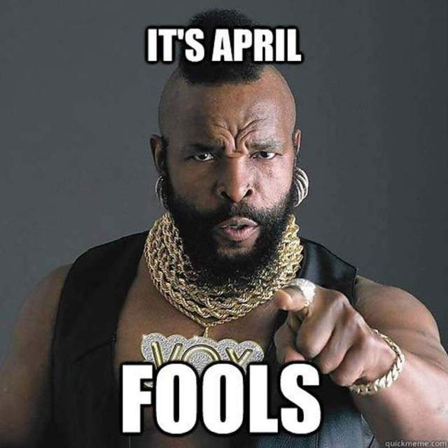 April Fools Day 511