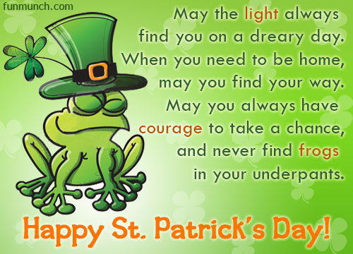 Best Wishes Happy St. Patrick's Day Greetings Quotes