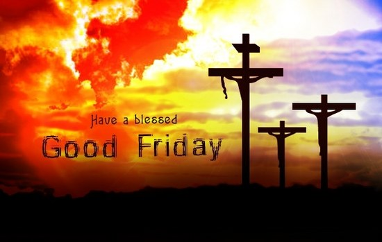 Blessing On Good Friday Wishes Wallpaper