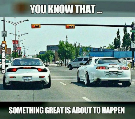 Car Memes You know that something great is about to happen