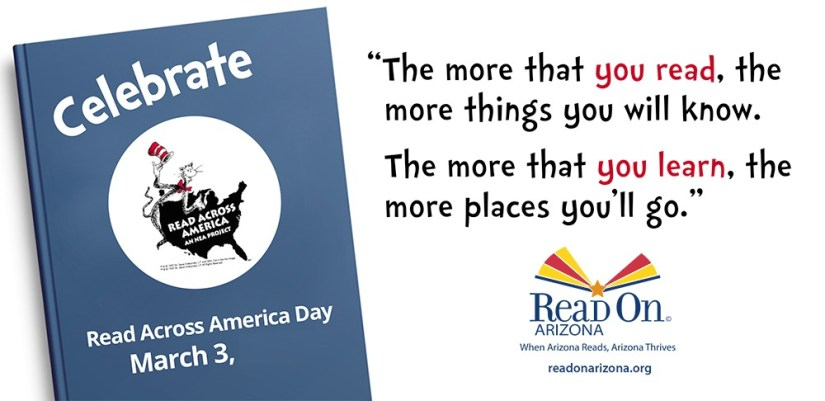 Celebrate Read Across America Day Dr. Seuss Quotes