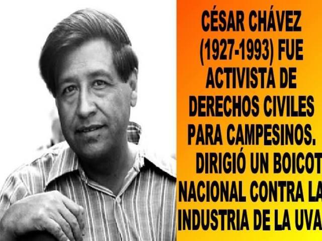 Cesar Chavez Day 105