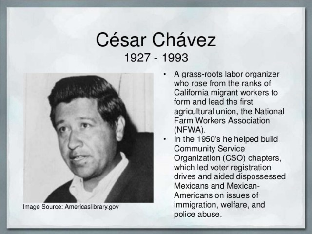 the life and work of cesar chavez In his own words: the life and work of cesar chavez exhibit closes - confederate reunion grounds.