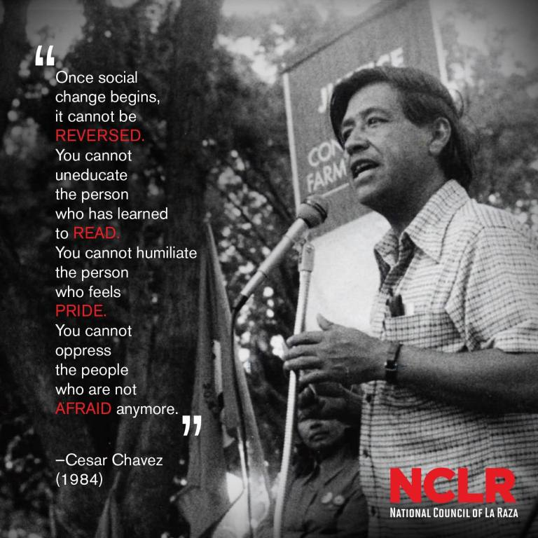 Cesar Chavez Quotes 78