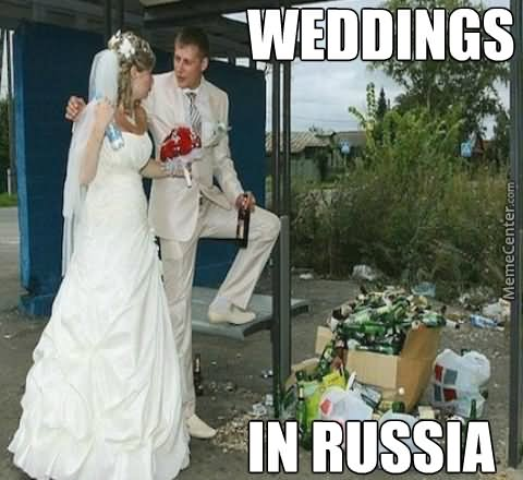 Children Meme wedding in russia