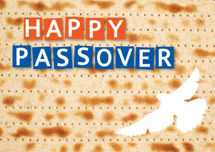 Colorful Passover Wishes Image