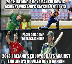 Cricket Memes 2007 Ireland's boyd rankin bowls