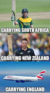 Cricket Memes Carrying south Africa carrying new Zealand