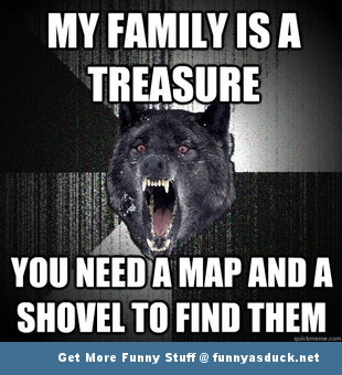 Family Meme My family is a treasure you need a