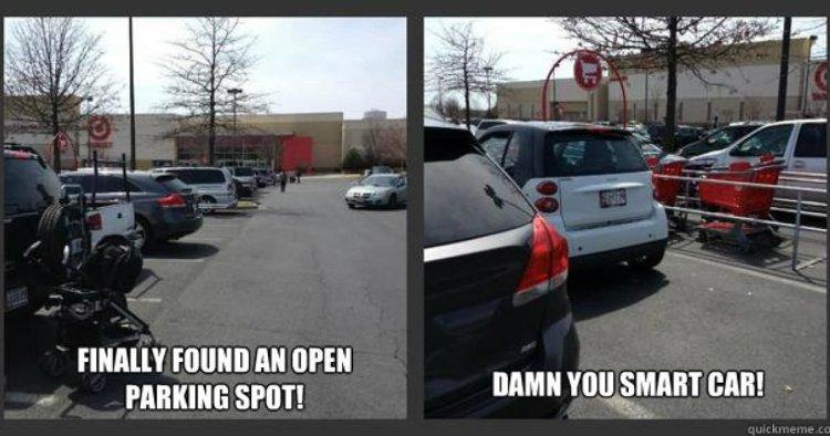 Finally found an open parking spot Car Meme
