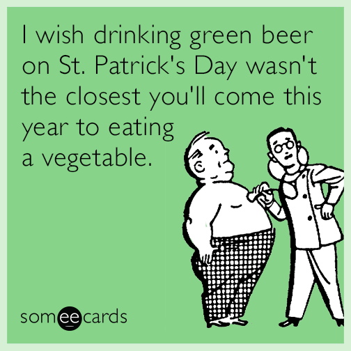 Funniest St. Patrick's Day Greetings E card Image