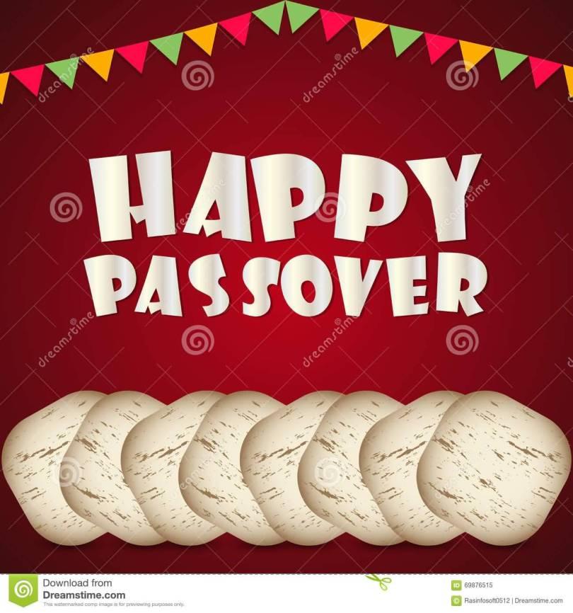 Happy Passover Celebration Poster Image