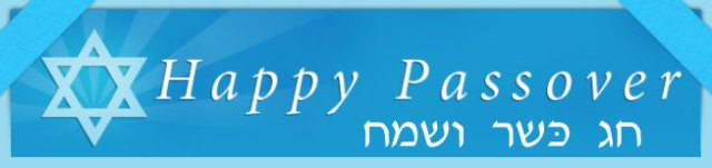 Happy Passover Cover Image For Facebook