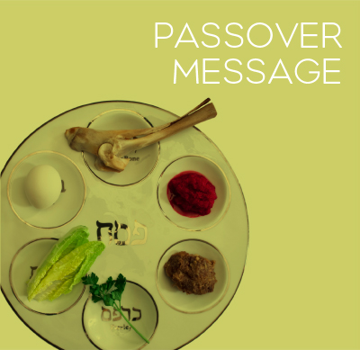 Happy Passover Message Wishes Image
