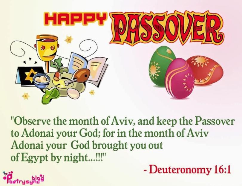 Happy Passover Wishes Poem Deuteronomy