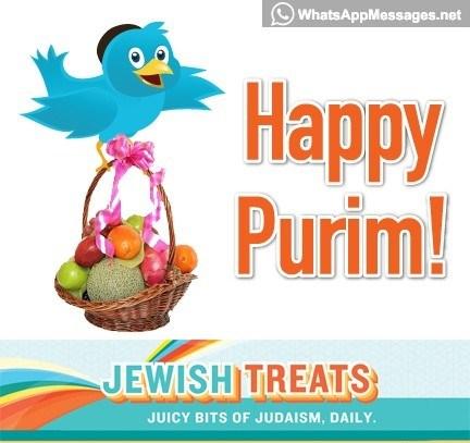 Happy Purim Jewish Treats