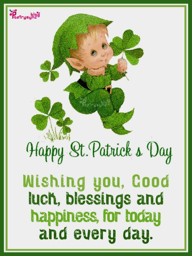 Image result for st patrick day greetings blessings