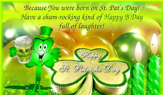 Happy St. Patrick's Day Wishes Message Image