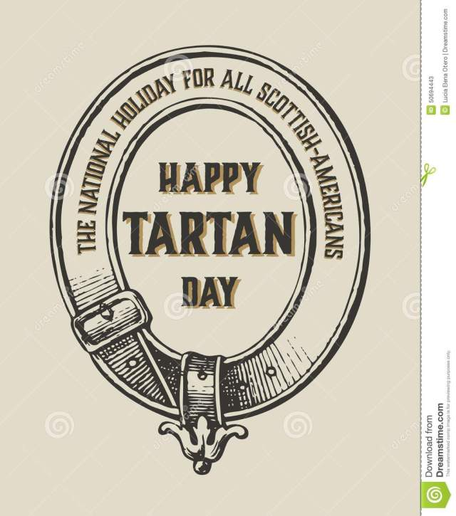 Happy Tartan Day National Holiday