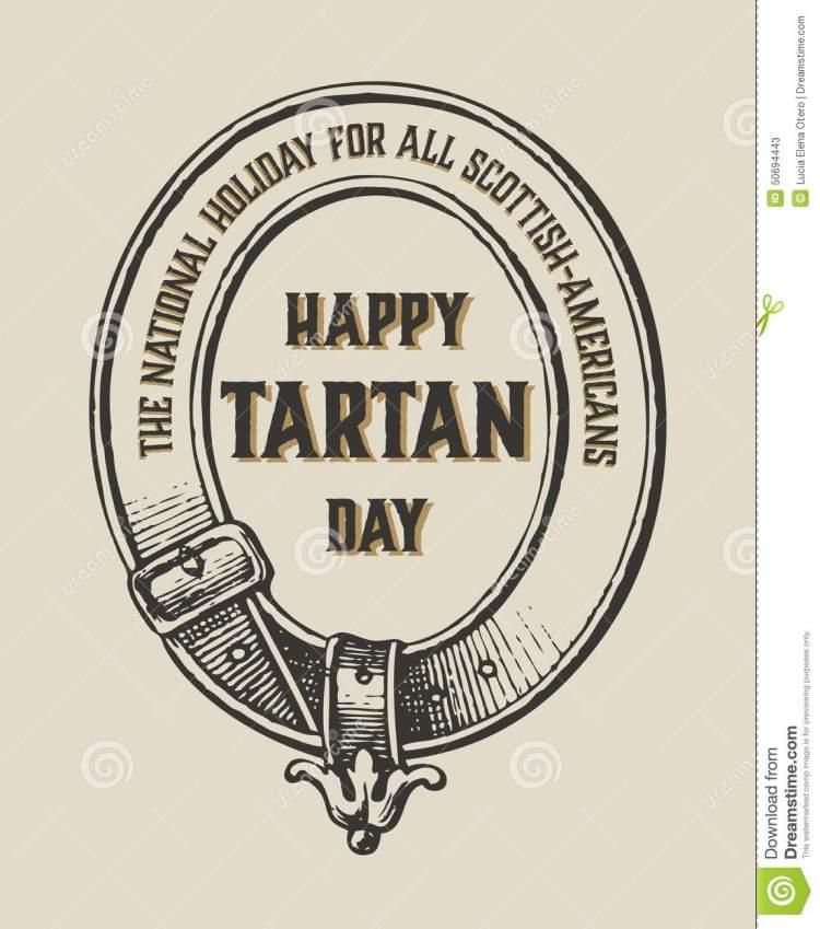 Happy Tartan Day National Holiday
