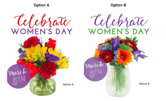 Happy Women's Day Celebrates Image