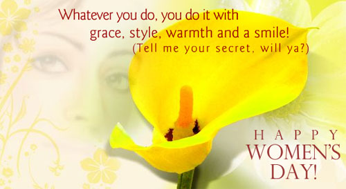 Happy Women's Day Have A Joyful Day Wishes Message Image