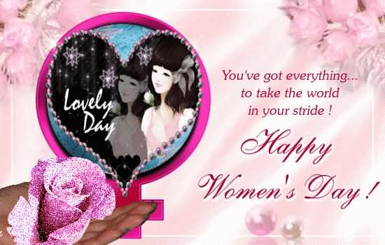Happy Women's Day Message Image