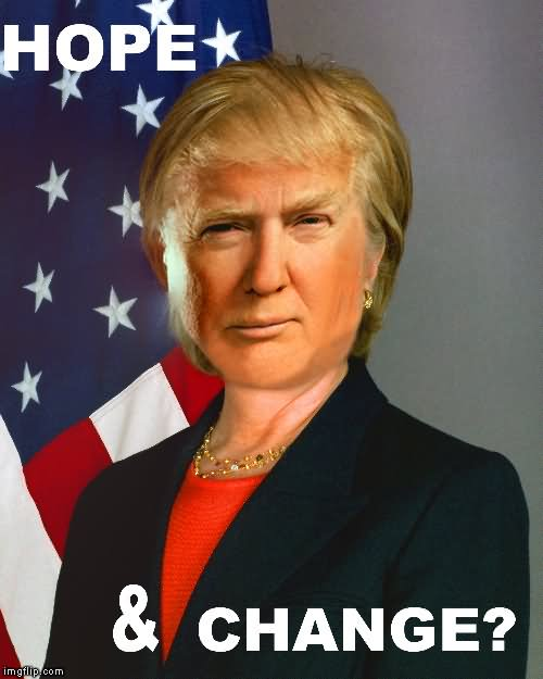 Hillary Clinton Meme Hope change
