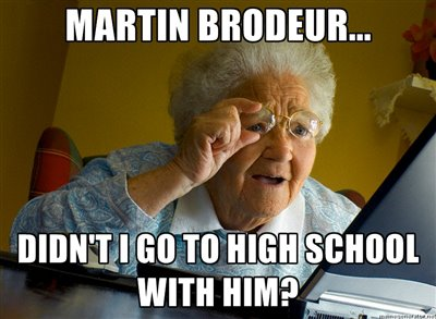 Hockey Memes Martin brodeur didn't i go to high school with him