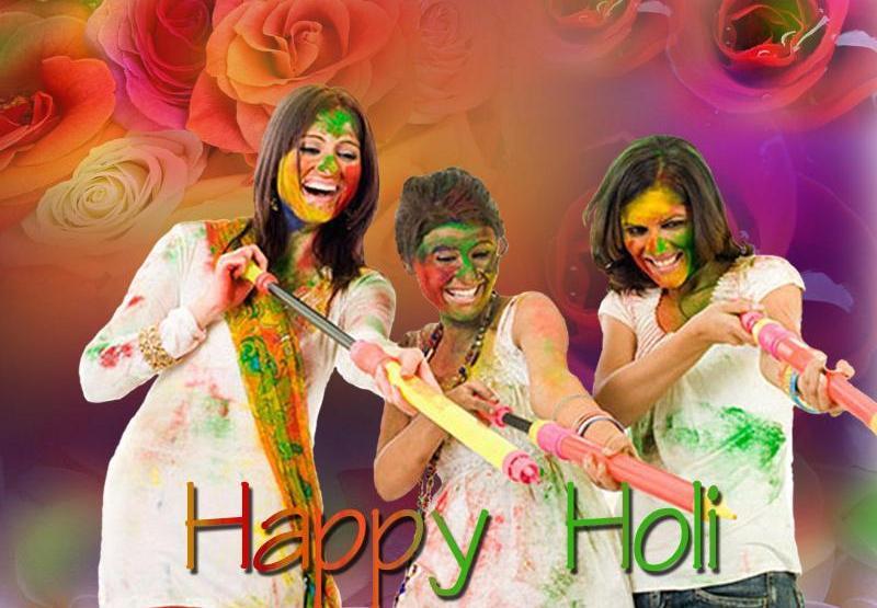 Holi Celebration Image