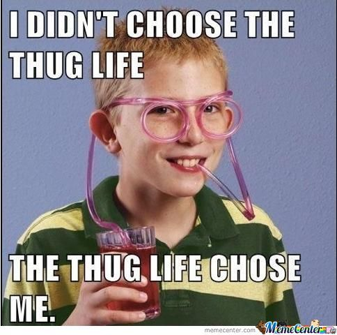 I dont choose the thug life the Cool Meme?fit=484%2C480 i don't choose the thug life the cool meme picsmine,Cool Memes