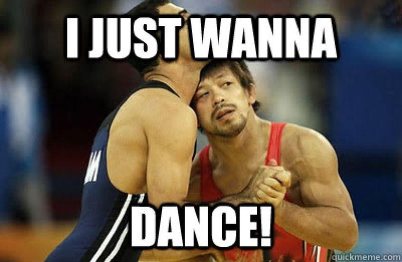 I just wanna dance Meme