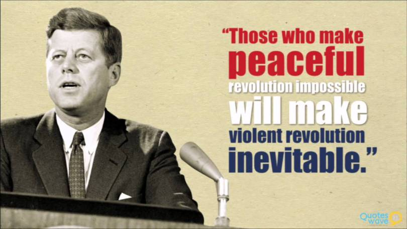 John F Kennedy Quotes Sayings 02