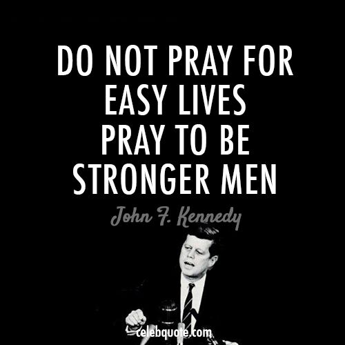 John F Kennedy Quotes Sayings 19