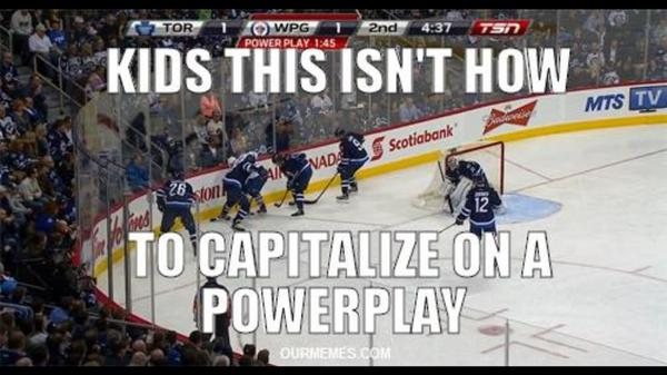 Kids this isn't how to capitalize Hockey Memes