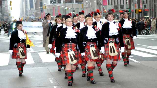 Ladies Tartan Day Parade Image