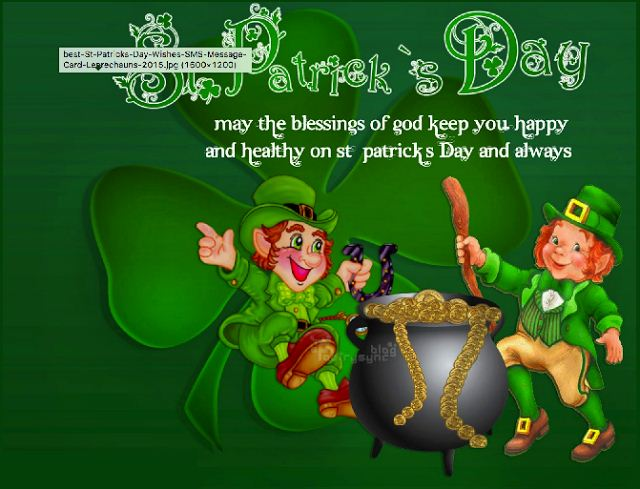 May The Blessings Of God Keep Your Happy And Healthy On St. Patrick's Day And Always