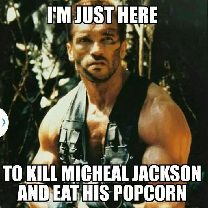 Michael Jackson Meme Im just here to kill Michael Jackson
