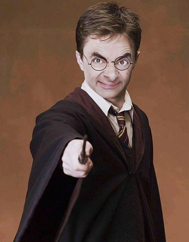 Mr Bean Funny Photoshop Images 11