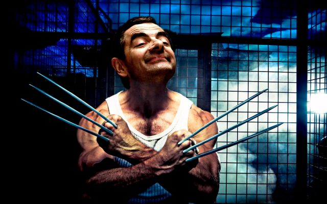 Mr Bean Funny Photoshop Images 26