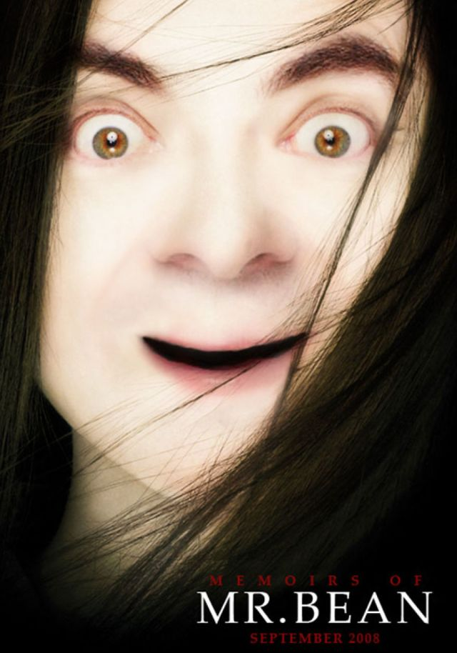 Mr Bean Funny Photoshop Images 34