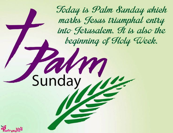 Palm Sunday Wishes Quotes 19