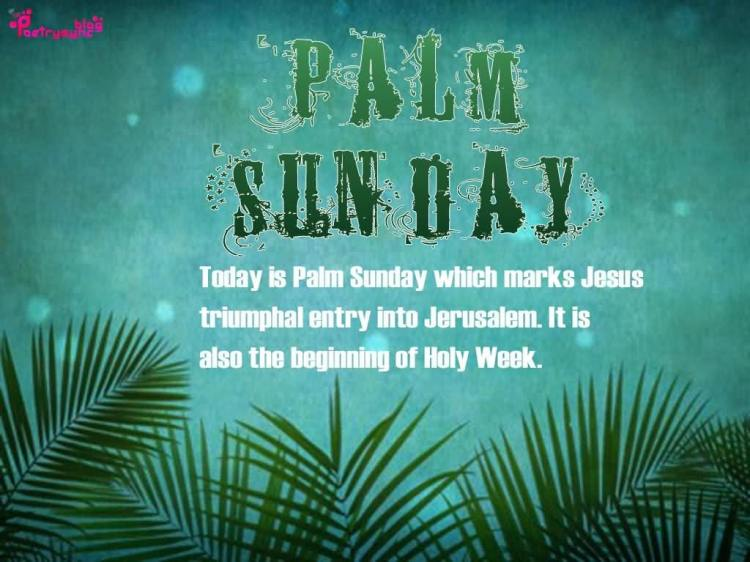 Palm Sunday Wishes Quotes 23