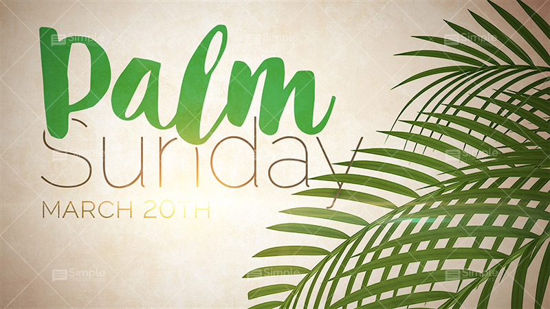 Palm Sunday Wishes Wallpaper 0127