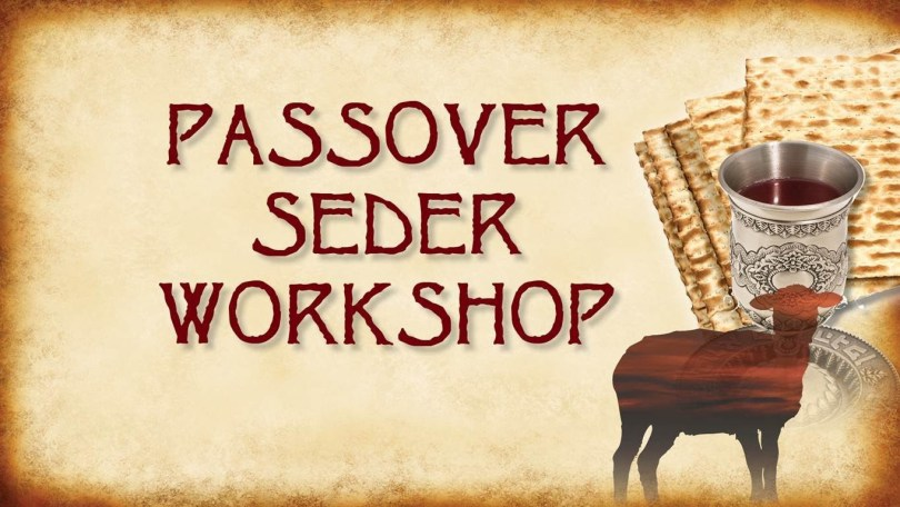 Passover Seder Workshop Wishes Image