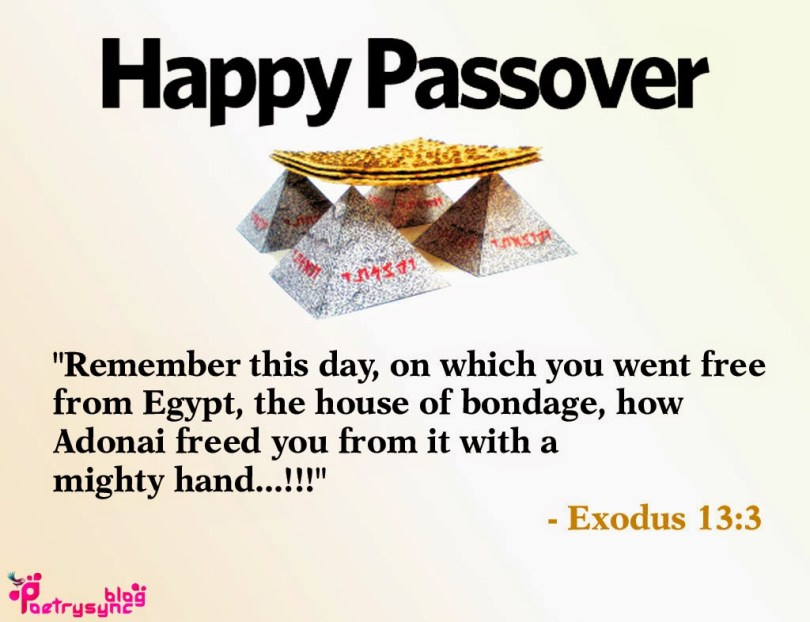 Remember This Day Happy Passover Wishes Message Image