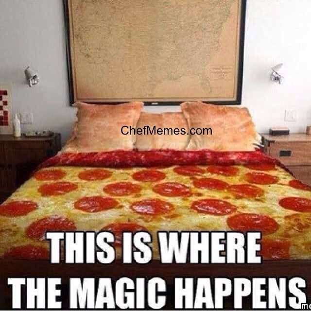 This is where the magic happens Food Meme